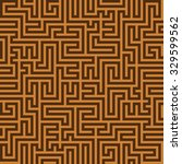 seamless simple vintage brown... | Shutterstock .eps vector #329599562