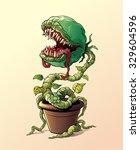 Hungry Evil Carnivorous Plant...