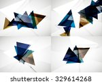 set of angle and straight lines ... | Shutterstock . vector #329614268