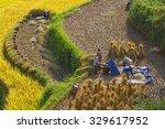 ha giang  vietnam   oct 15 ... | Shutterstock . vector #329617952