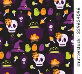 pattern in cartoon style for... | Shutterstock . vector #329624096