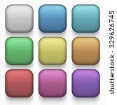 vector modern colorful web... | Shutterstock .eps vector #329626745