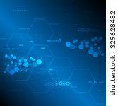 vector abstract background... | Shutterstock .eps vector #329628482