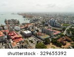 aerial view of port of colombo  ... | Shutterstock . vector #329655392