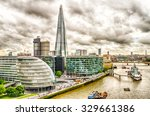 Aerial View Of South Bank Over...