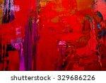 abstract art  background. oil... | Shutterstock . vector #329686226