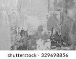 oil paint texture. grunge black ... | Shutterstock . vector #329698856