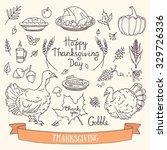 Hand Drawn Thanksgiving...