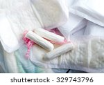 sanitary pads for women with... | Shutterstock . vector #329743796