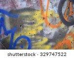 background graffiti | Shutterstock . vector #329747522