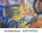 background graffiti | Shutterstock . vector #329747522
