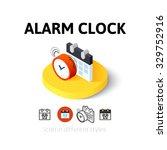 alarm clock icon  vector symbol ...