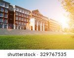 hall building in college | Shutterstock . vector #329767535