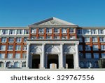 hall building in college | Shutterstock . vector #329767556