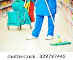 cleaning services. female... | Shutterstock . vector #329797442