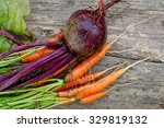 organic eco vegetables   young... | Shutterstock . vector #329819132