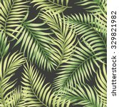 seamless exotic pattern with... | Shutterstock .eps vector #329821982