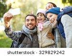 travel  tourism  hike ... | Shutterstock . vector #329829242