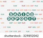 currency concept  painted green ... | Shutterstock . vector #329852042