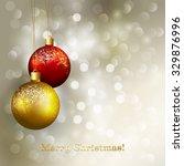 christmas greeting | Shutterstock . vector #329876996
