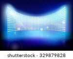 big led screen. vector... | Shutterstock .eps vector #329879828