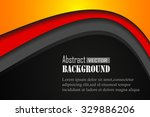 vector background curve line... | Shutterstock .eps vector #329886206