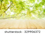 empty table for display montages | Shutterstock . vector #329906372