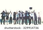 business people new york... | Shutterstock . vector #329914736