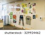 new york  usa   oct 8  2015 ... | Shutterstock . vector #329924462