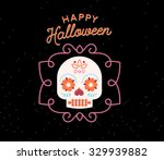 happy halloween | Shutterstock .eps vector #329939882