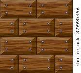 seamless wooden panel door... | Shutterstock .eps vector #329989496
