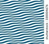 wavy stripes seamless pattern.... | Shutterstock .eps vector #330004676