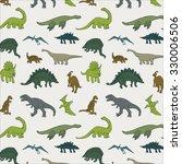 dinosaur pattern | Shutterstock .eps vector #330006506