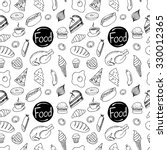 seamless pattern of different... | Shutterstock .eps vector #330012365
