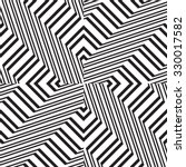 black and white geometric... | Shutterstock .eps vector #330017582