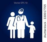 family practice vector... | Shutterstock .eps vector #330017705