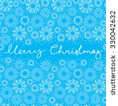 xmas greeting card with new... | Shutterstock .eps vector #330042632