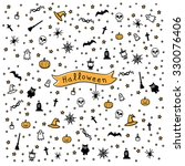 color pattern for halloween | Shutterstock .eps vector #330076406