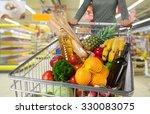 supermarket. | Shutterstock . vector #330083075