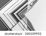 urban geometry  looking up to... | Shutterstock . vector #330109952