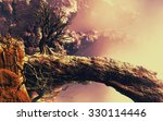 3d landscape illustration where ... | Shutterstock . vector #330114446