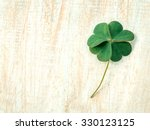 Closeup Clovers Leaves  Setup...
