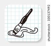 doodle brush | Shutterstock . vector #330137492
