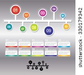 infographic design template can ... | Shutterstock .eps vector #330179342