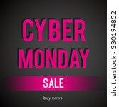 cyber monday sale | Shutterstock .eps vector #330194852