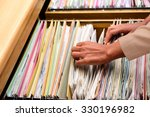 office files an extremely easy... | Shutterstock . vector #330196982