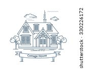 real estate market concept flat ...   Shutterstock .eps vector #330226172