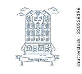 real estate market concept flat ...   Shutterstock .eps vector #330226196