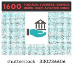 bank service vector icon and... | Shutterstock .eps vector #330236606
