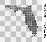 map of florida | Shutterstock .eps vector #330238616